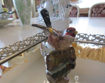 ENGLAND CROWN STAFFORDSHIRE Bird Figurine