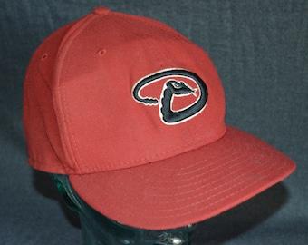 Retro New Era Arizona Diamondbacks Fitted Baseball Cap Hat (7 1/2)
