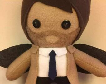 Castiel Supernatural Angel Fleece Plush Doll