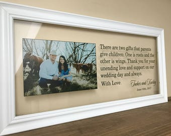 Mother of the Bride Gift Gifts for Parents Father of the Bride Gift Wedding Gifts for Parents Mother of the Groom Gift Wedding  A165C