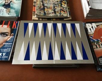 Aluminium backgammon board