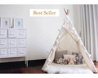 Kids Teepee - Teepee - Kids Wigwam - Teepee Tent for Kids - Kids Tipi - Childrens Teepee - Child Tipi - Wigwam - Childrens Play Tent