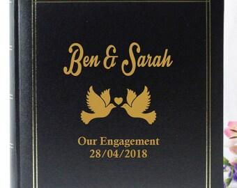 Personalised Wedding/Engagement Photo Album-Dove
