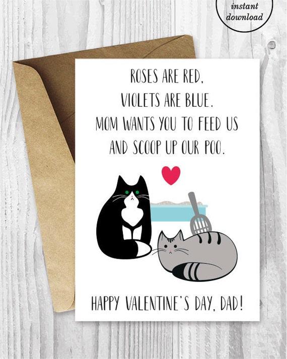 Valentine Card Printable Valentine Card Him Printable for