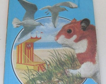 Vintage Children's Book - Hannibal the Hamster on Holiday - A Ladybird Book