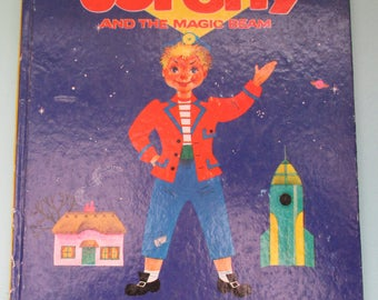 Vintage 1960s Children's Book - Torchy and the Magic Beam by Roberta Leigh