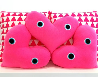 Heart Stuffed Pillow Plush