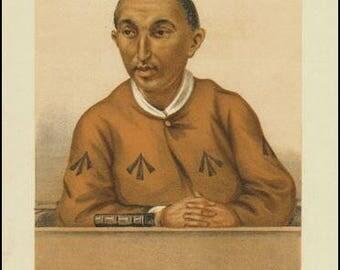 Harry Benson 1877 Criminal : Vanity Fair Print / Lithograph