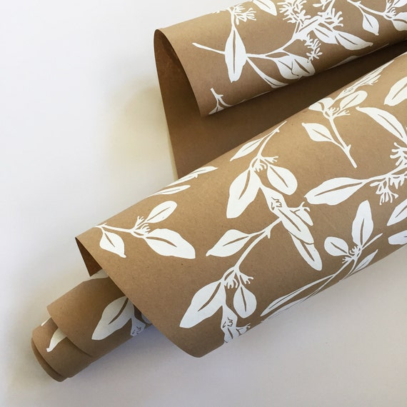 Wrapping Paper Roll Eucalyptus Wrapping Paper Screen