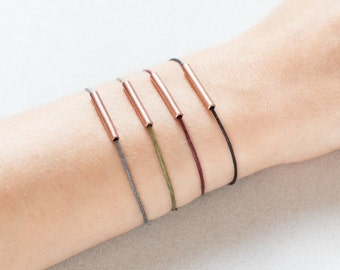 Copper Friendship Bracelet, Minimal Copper Tube Bracelet, Friendship Bracelet, Minimalistic Bracelet, Copper Tube, Simple Copper Bracelet