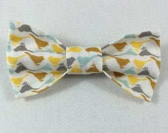Birdie Cat Bow tie, Cat tie, Cat Bow tie collar