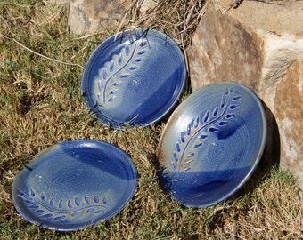 Cobalt Trinket Dish (set of 3)