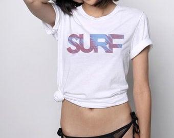 Surf Shirt, Summer Shirt, Surfer Girl, Women's Summer Clothes, Shirts for Women, Surfer Shirt, Beach Shirt