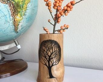 Sycamore vase