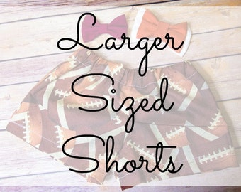 Larger Shorts Size Add On