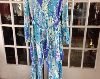 70's Pucci inspired pantsuit