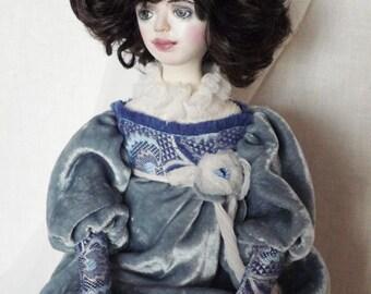 OOAK Boudoir doll Ada