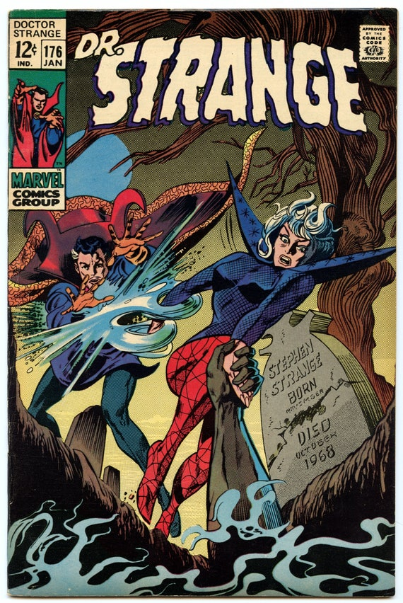 Doctor Strange 176 Jan 1969 VF- (7.5)