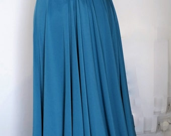 Infinity Multiway Convertible Twist Wrap Dress Bridesmaid Wedding Prom Evening Teal