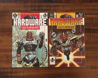1993 Hardware #1DU and #1N Comic Books With Insert Posters/ DC Comics/ NM-VF/ Choose One or Both for a Discounted Price!!!