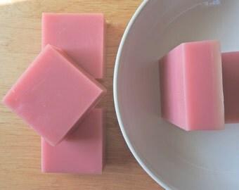 SOAP Berrywine/ Handmade Soap/ Shea Butter Soap/ Glycerin Soap