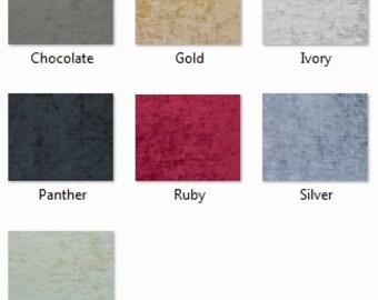 SWATCH: 13.5 oz Chenille Fabric