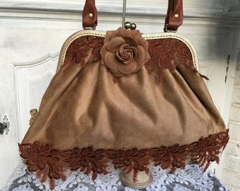 Bag, shoulder bag, shoulder bag, bag, retro, vintage, bag, bow bag