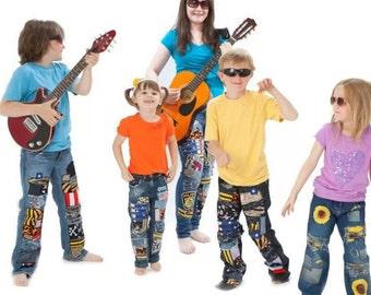 Kids Bespoke Jeans
