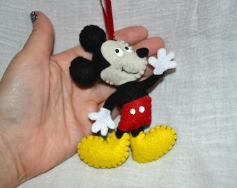 Mickey Ornament Or Keychain