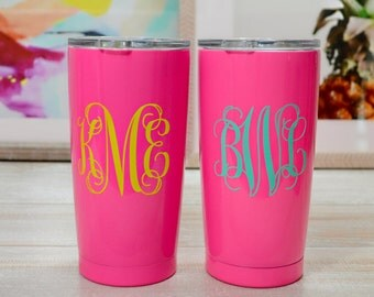 Monogrammed SIC Glacier Tumbler, Seriously Ice Cold Tumbler