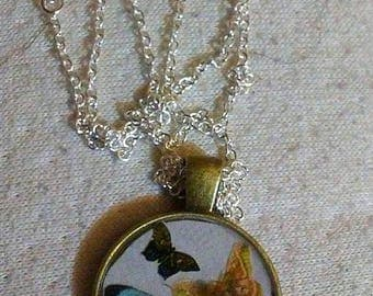 Butterfly resin pendent