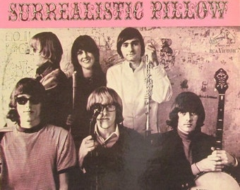 """Jefferson Airplane  """"Surrealistic Pillow""""  - Excellent Condition - Vintage Vinyl Record - Somebody to Love - White Rabbit  Free Shipping!"""