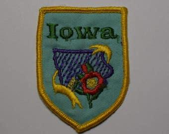 Vintage Iowa Patch