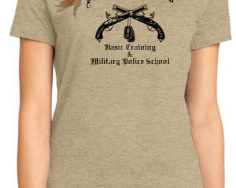 Fort Leonard Wood Military Police School womens T - Shirts