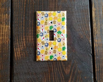 Animal Crossing Light Switch And Other Style Covers | Nintendo Game Cube - Video Game Decor - Gamer Gift - Wall Art - Room Decor - Game Room