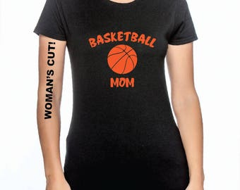 Basketball Mom or Dad - Black, White or Gray T-Shirt