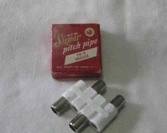 PITCH PIPE SN-4 Ukulele by Wm. Kratt Co. U S A