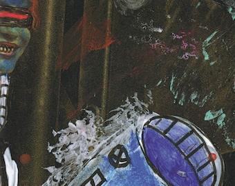 Sketchboke 2016 vol. 1 - Zine   Full Color