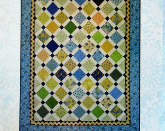 "Quilters' Paradise Quilt Pattern ~ ""Simply Charmed"" #QP602"
