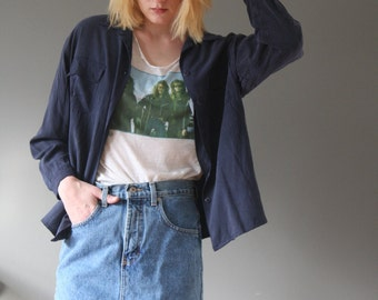 London Denim mini skirt