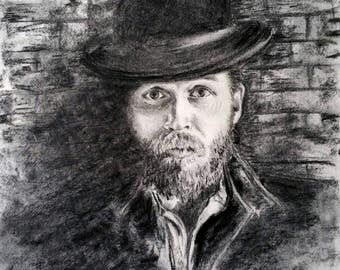 Personal and original portrait from photo