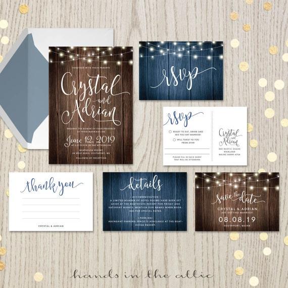 Complete Wedding Invitation Kits
