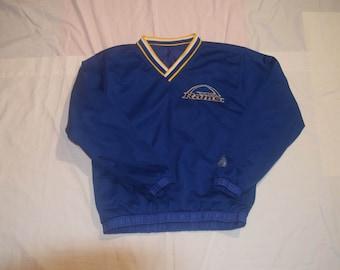 Vintage St Louis LA Rams Pullover Jacket Sz XS/S