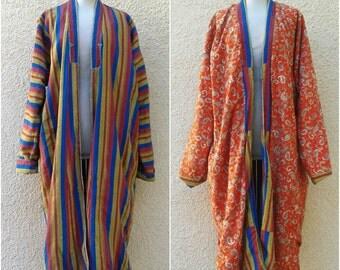 Gorgeous Vintage Turkmenistan Robe Coat