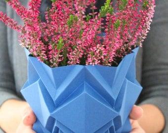 Cache pot origami fait main   objet de décoration parfait pour chez vous   existe en plusieurs couleurs   parfait pour un cadeaux