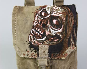 Survival Kit - Survival Bag - Army Bag - Military Gifts - Military Coin Holder - Dieselpunk - Military Belt Bag - Wasteland Sachet - Zombies