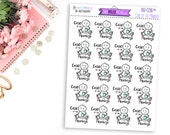 Case Of The Mondays BD-036 | 20 Hand-drawn Planner Stickers