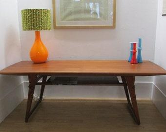 Danish Atomic Coffee Table Teak