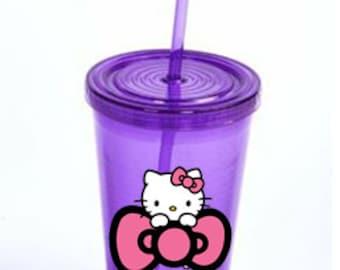 Hello Kitty Tumbler - purple
