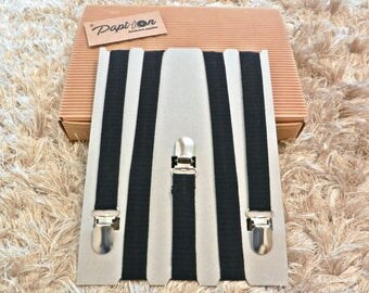 Suspenders Blue-Black lines - Unique Items